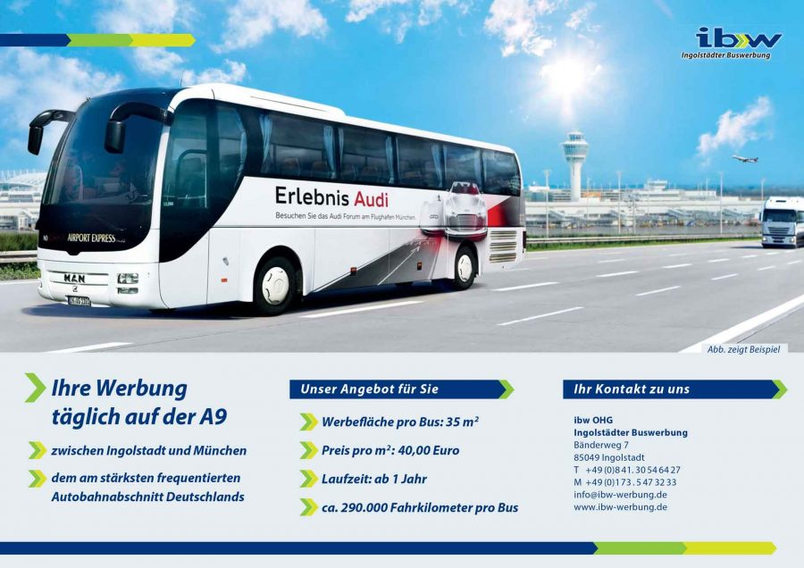 Buswerbung Airport-Express