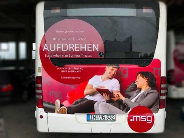 Buswerbung ms-group