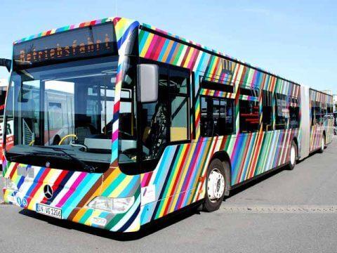 Buswerbung INVG