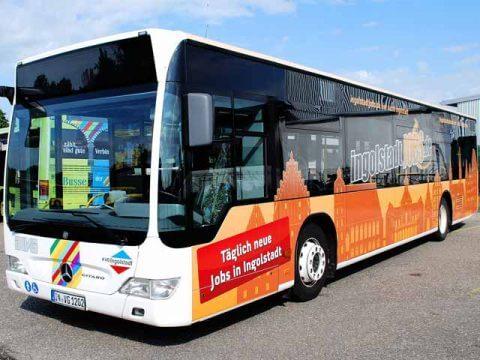 Buswerbung Ingolstadt Jobs