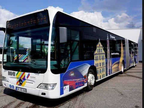 Buswerbung Stadt Ingolstadt