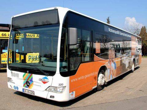 Buswerbung Weiss Geisenfeld