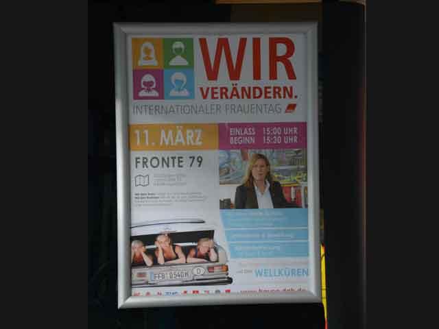 Busplakat Frauentag