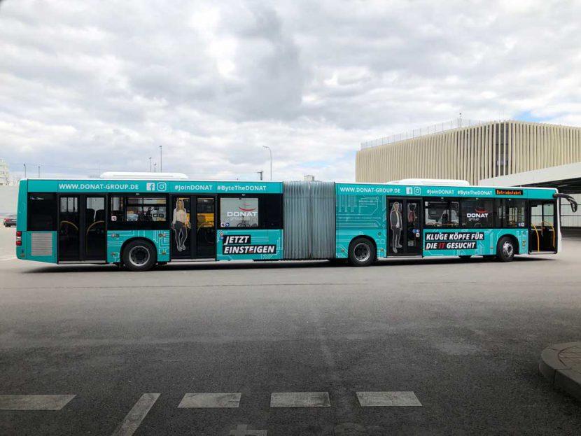 Buswerbung Ingolstadt Donat Group GmbH